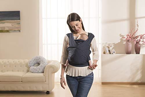 Chicco 06079949800000porte-bébé Boppy comfyfit Blu