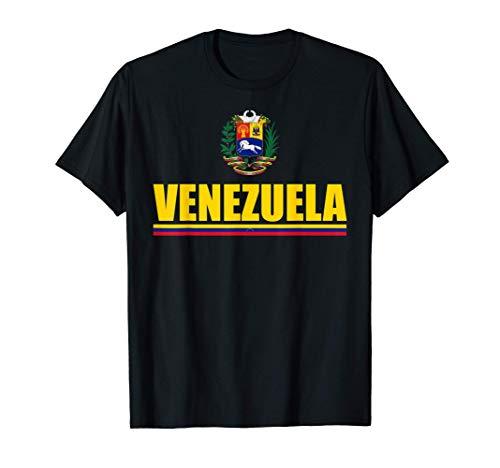 Venezuelan Futbol Camiseta Tricolor Flag Of Venezuela Camiseta