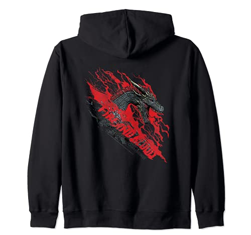 Game of Thrones Fire and Blood Dragon Sudadera con Capucha