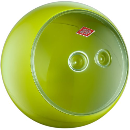 Wesco 223201-20 Vorratsdose Spacy Ball 24.80 x 22.50 cm, grün