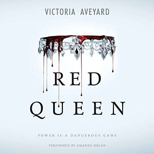 Red Queen audiobook cover art