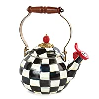 Courtly Check Whistling Tea Kettle