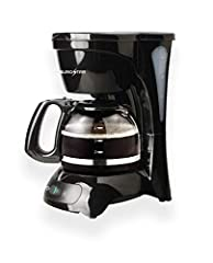 Permanent filter included On/off indicator light lets you know when your coffee maker is on or off Pause'n Serve auto pause stops cycle if you need a cup before brewing is finished Water window allows visibility as you fill - no more overflows Non-st...