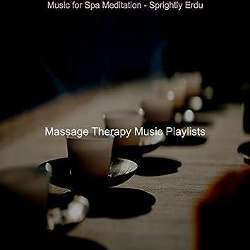 Music for Spa Meditation - Sprightly Erdu