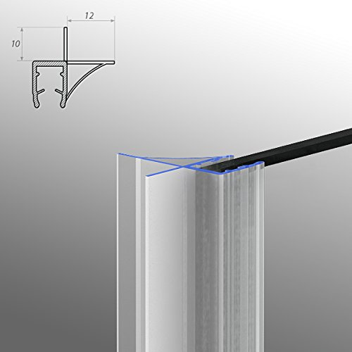 Sellado para ducha modelo 6 para 8 mm grosor 90 cm: Amazon.es: Bricolaje y herramientas