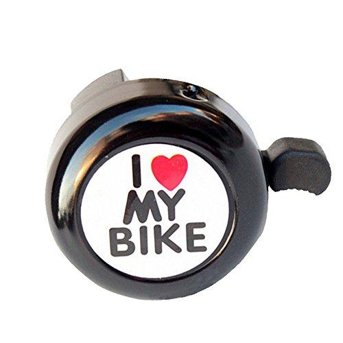 ZEELIY Klassischer Fahrradklingel Metal Bell Ring Bicycle Horn Alarm Accessories