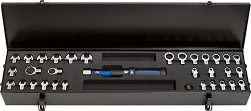 Preisvergleich Produktbild KS Tools 516.1615 9x12mm ERGOTORQUEprecision Einsteck-Drehmomentschlüssel-Satz,  1-25Nm,  33-tlg.