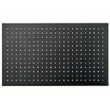 Soffione doccia rettangolare DPG2051-50x30cm - nero opaco