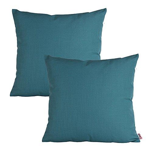 Queenie®–2pcs damas Plaids/rayas funda de almohada Funda de cojín decorativo para sofá funda de almohada Sham 18x 18(45x 45cm)