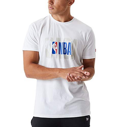 New Era Camiseta de Manga Corta Modelo NBA Logo tee NBALOG Marca