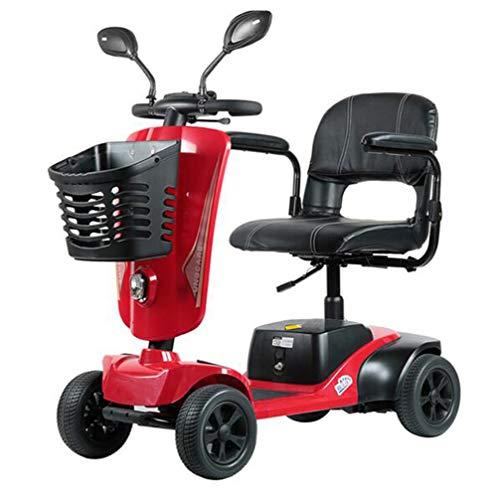 YOLL Scooter Eléctrico para Personas Mayores Discapacitados Adulto   Plegable   Compacta...
