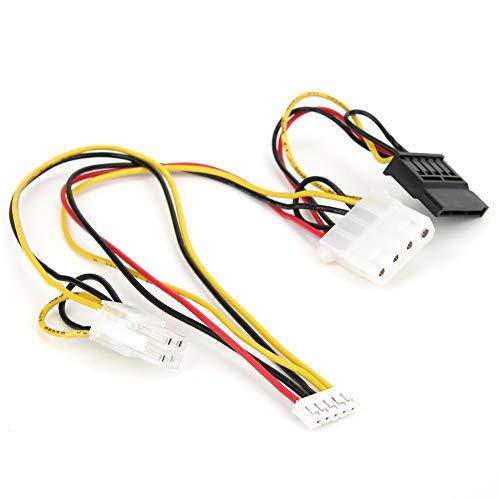 Jeanoko 20a 180W 11.4‑13V Componentes Electrónicos 24 de 24 pulgadas de CC‑ATX con cable de conexión