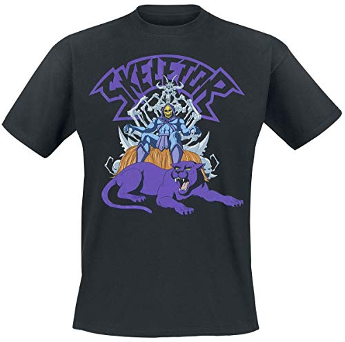 Masters of the Universe Skeletor On Throne Männer T-Shirt schwarz L