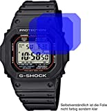 4ProTec I 2X Crystal Clear klar Schutzfolie für Casio G-Shock Bildschirmschutzfolie Displayschutzfolie Schutzhülle Bildschirmschutz Bildschirmfolie Folie
