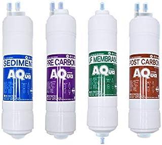 4EA Filtre à eau de rechange économique pour Wonbong : WFP-7270S/WFP-7280S - 10 microns