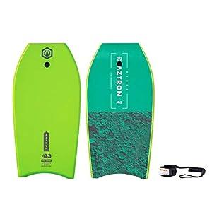 Aztron Ceres Bodyboard Unisex Adulto, Verde 109 x 55 x 5,6 6