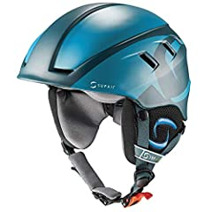 Supair PILOT HELMET Adjustable : THE IDEAL PARAGLIDING HELMET The PILOT helmet was specially developped by SUPAIR for paragliding school. It is modern, comfortable and very light. Size :One size only ( adjustable XS to L ), Weight : 380gr, Colors :Da...
