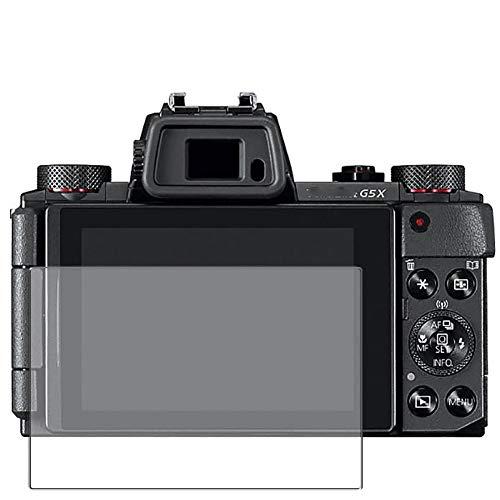 Vaxson 3 Stück Anti Blaulicht Schutzfolie, kompatibel mit Canon PowerShot G5 X (PSG5X), Displayschutzfolie Anti Blue Light [nicht Panzerglas]