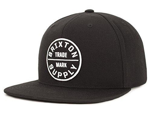 BRIXTON Casquette Baseball Oath III Snapback Homme - Black - One Size