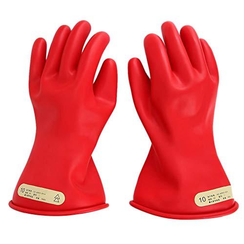 Elektrische Sicherheitshandschuhe, Gummihandschuhe für Elektriker, isolierte Handschuhe Isolierte elektrische Handschuhe für Elektroarbeiten/Haushalt