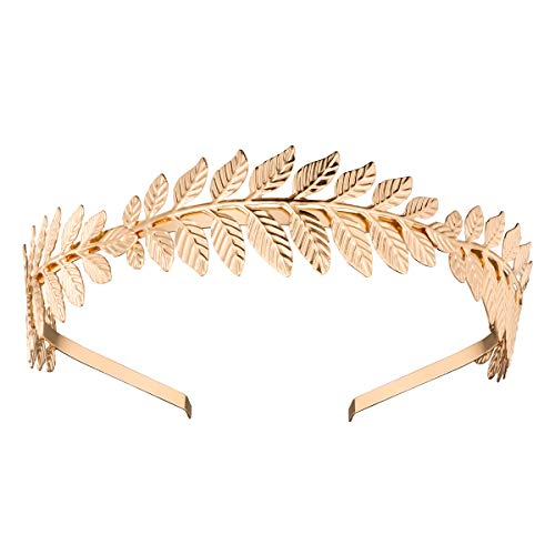 nuolux 383614, Haarkranz für Braut, Haarkranz (Gold)