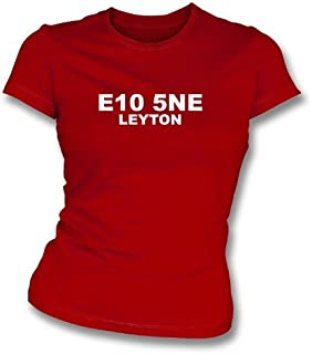 E10 5NE Leyton Women's Slimfit T-Shirt Leyton Orient