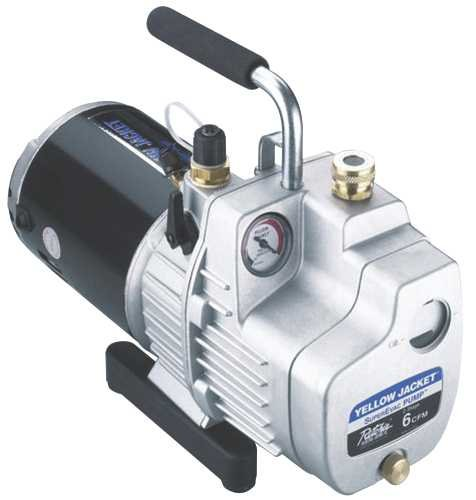 Yellow Jacket 93580 Superevac Vacuum Pump, 8 Cfm