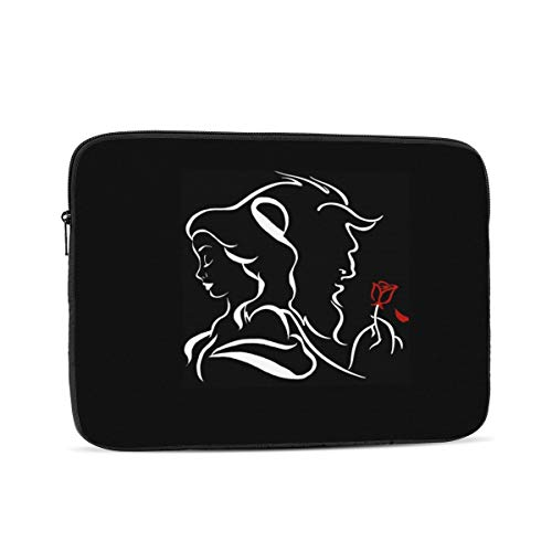Beauty Within The Beast Laptop Sleeve 10,12,13,15,17 inch, Shock Resistant Notebook Briefcase, Computer Protective Bag, Tablet Carrying Case for MacBook Pro,etc.