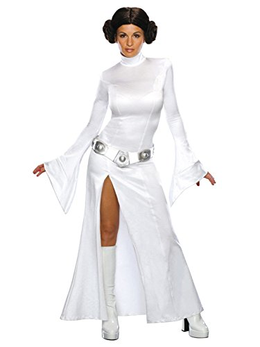 Traje de la mujer: la princesa Leia - Star Wars 3 partes - S