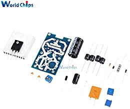 Ponis-Limos - LT1083 Adjustable Regulated Power Supply Module Parts and Components Diy Kit Electronic PCB Board Module