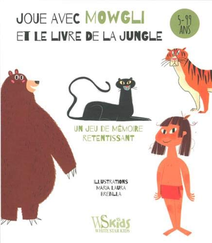 Joue avec Mowgli et le livre de la jungle - jeu de cartes