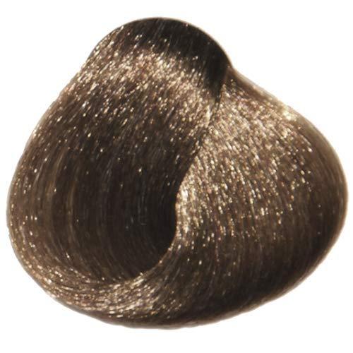 Tahe Organic Care Dauerhafter Farbstoff Haar-Farbe, Nein.7.01 Medium Natural Ash, 100 ml