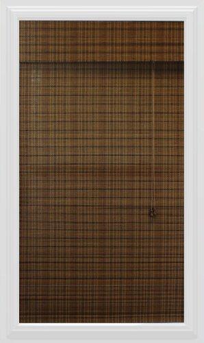 Calyx Interiors visualización Romana de bambú, 19 Pulgadas de Ancho por 54 Pulgadas de Alto, Tíbet