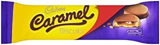Cadbury Caramel Biscuits 130 G (Pack Of 12)