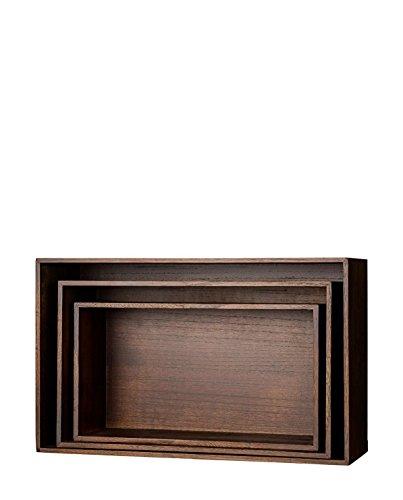 Bloomingville Holzbox Set Mahogany