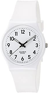 Swatch Women's Digital Quartz Watch with Silicone Bracelet - GW151O