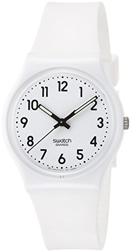 Swatch Damenuhr Digital Quarz mit Silikonarmband – GW151O