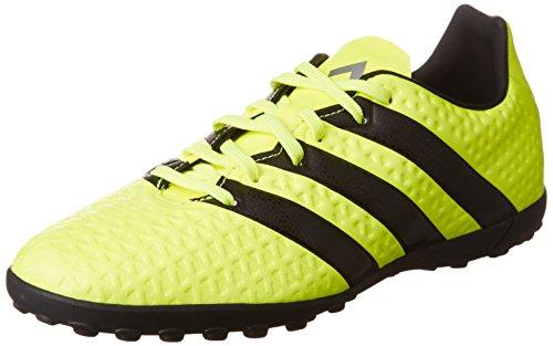 adidas Ace 16.4 TF, Botas de fútbol para Niños, (Solar Yellow/Core Black/Silver Metallic), 38 EU