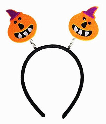 La Vogue Bandeau Cheveux Enfant Fille Cosplay Halloween Deguisemnet Motif Citrouille