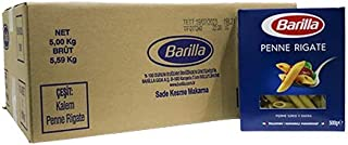 Barilla Penne Rigate (Kalem) Makarna 500G x 10 Paket