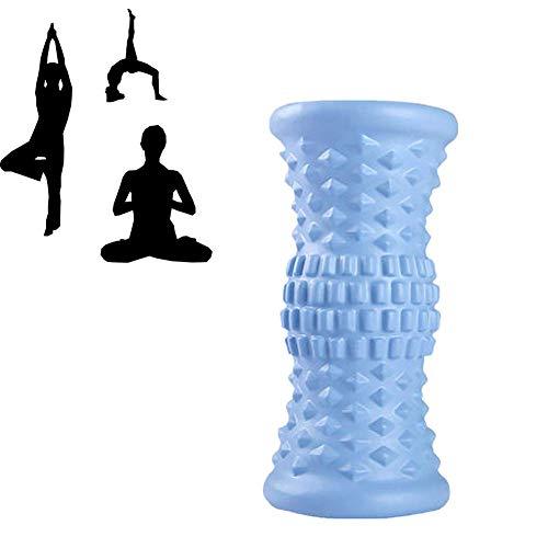 DealMux Fascia Roll Spine Roll para espalda Trigger Point Foam Roller Rollo de espuma para tejido profundo Masaje muscular Rollo de espuma Rollo de gimnasio