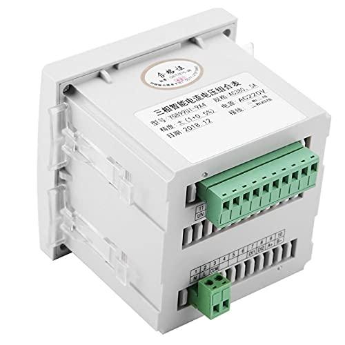 Amperímetro digital Amperímetro trifásico Amperímetro de voltaje para sistemas DOS para la industria química para equipos de automatización