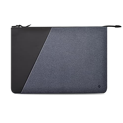 FINPAC Funda para Tablet/Laptop, Delgado Bolsa con Bolsillo Exterior, (13' Laptop, Negro)