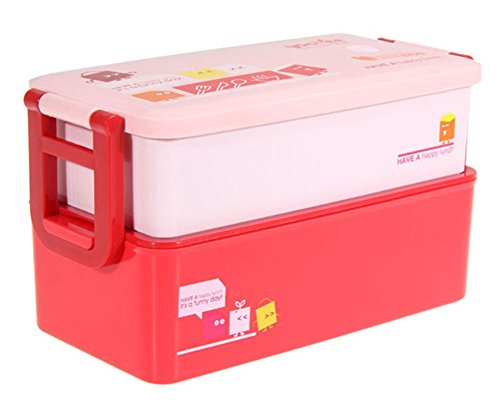 SaySure - Bento Lunch Box for Kids Food Container Food 850ML