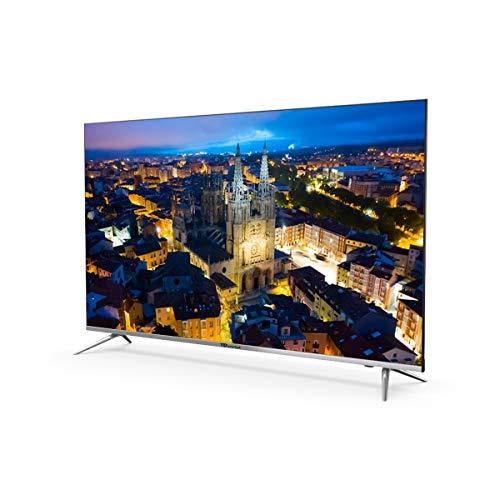 Televisores Smart TV 55 Pulgadas 4K UHD Android 9.0 y Hbbtv / 1300 PCI Hz/ 3X HDMI/ 2X USB/UHD HDR10/DVB-T2/C/S2/ televisiones led TD Systems K55DLJ10US miniatura