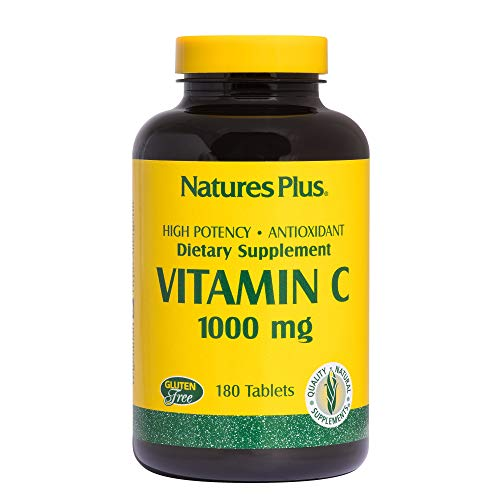 Vitamin C 1000mg with Rose Hips Nature's Plus 180 Tabs