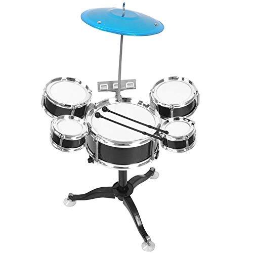 Zerodis- Juego de batería para niños de educación temprana Juego de batería para Principiantes Instrumento Musical para niños Puzzle de educación temprana Juguetes para niños