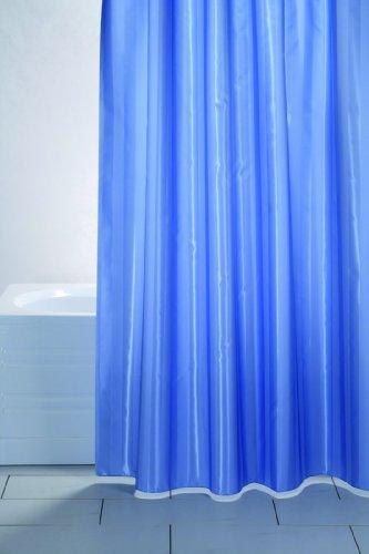 Duschvorhang Rigone blau, Größe Auswählen:180 x 200 cm