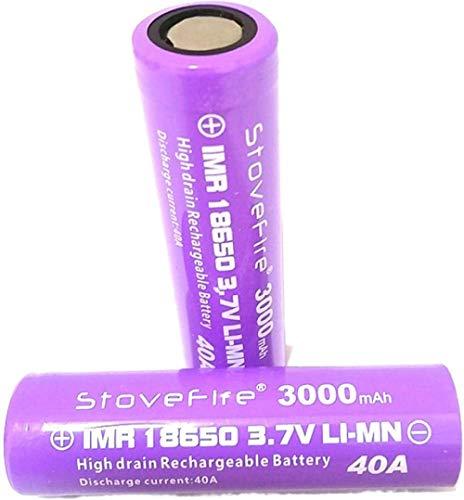 Batería de Litio Recargable de la batería de 3000mAh 3000mAh 3.7V para la Linterna LED o una batería Plana de Equipos electrónicos-8pcs