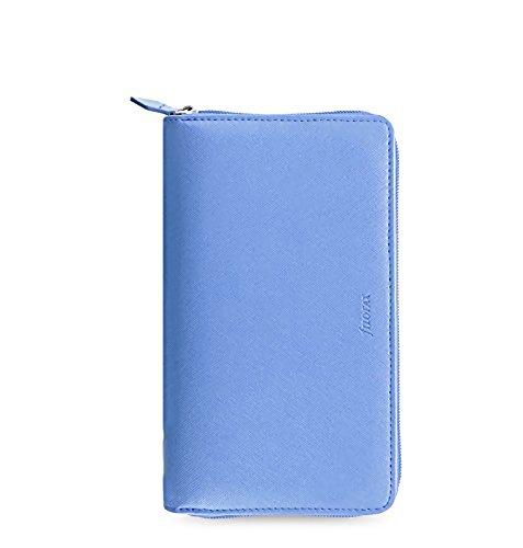 Filofax 22592 Terminplaner, Personal CPT Saffiano Vista, blau Zip